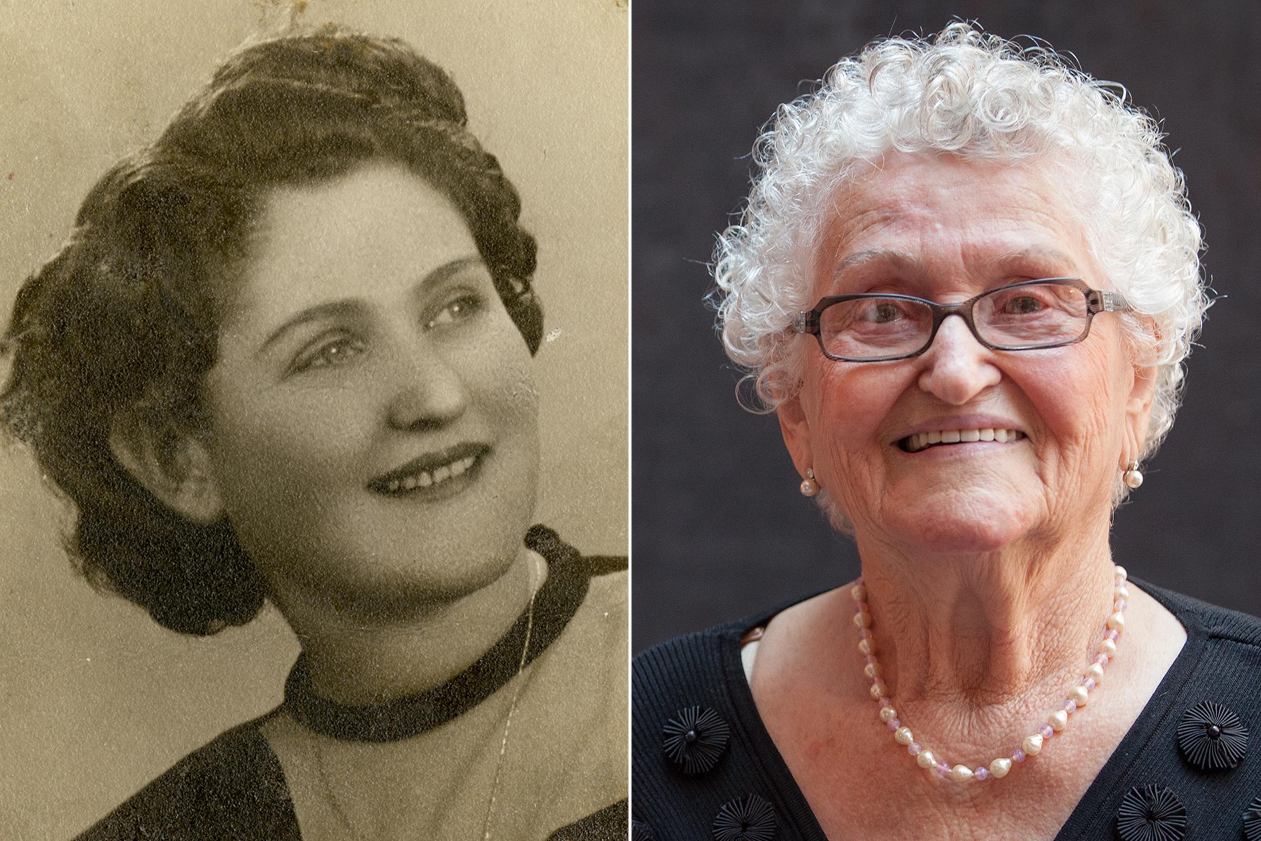 Photographs of Anna Grosz.US Holocaust Memorial Museum