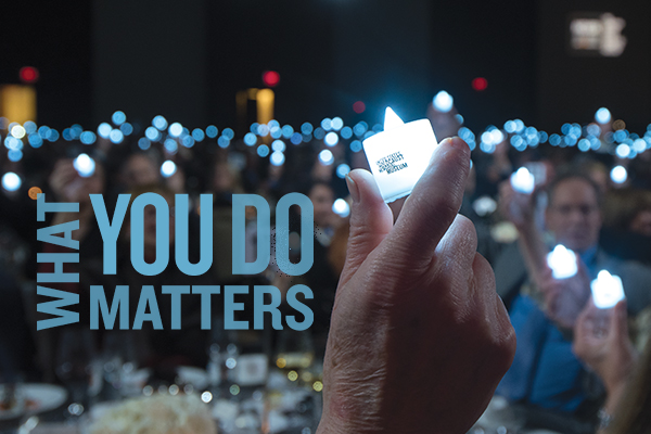 What You Do Matters 2019 New York Tribute Dinner