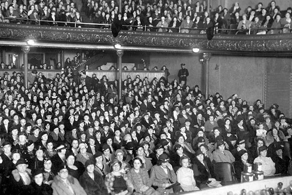 New Bedford Theatre, 1934.Spinner Publications