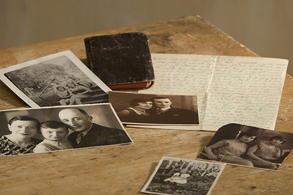 Goldblum family artifacts in the Museum collection. US Holocaust Memorial Museum, gift of Sally Wasserman